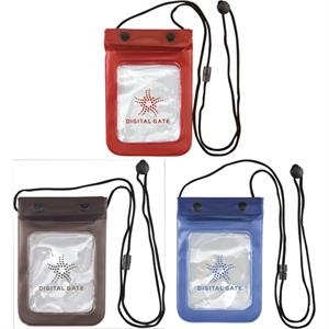 Catalog 5-7 Day Production - Waterproof Valuables Pouch