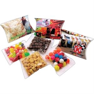Neame Gummy Bears (r) - Std - 5-15 Working Days - Your Name Or Logo On This 1 Oz Pillow Pack Filled With Soft Chewy Candy Bears