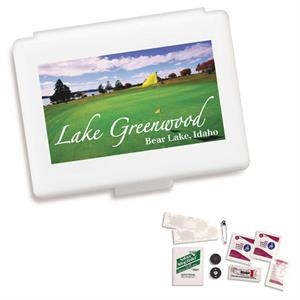 Bioad(tm) - Golf Survival Kit With Sting Relief Towelette, Aspirin Tablet Two Pack And More