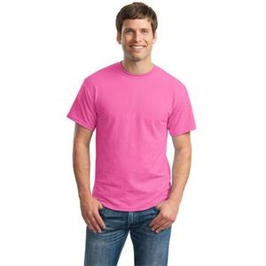Gildan (r) - S -  X L Heathers - Polyester/cotton T-shirt With Taped Neck And Shoulders, 5.6 Oz