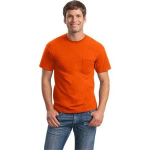 Gildan (r) - S -  X L Heathers - 50/50 Cotton/poly Pocket- T-shirt, 5.6 Oz Cotton, Seamless Collar