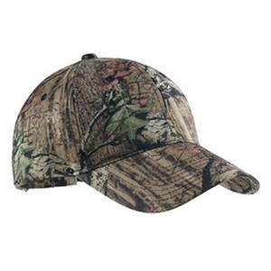 Port Authority (r) - Camouflage Cap, Structured, Mid Profile 6 Panel With Hook And Loop Closure