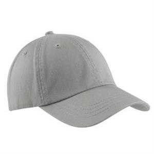 Port & Company (r) - Washed Twill Cap With Hook And Loop Closure