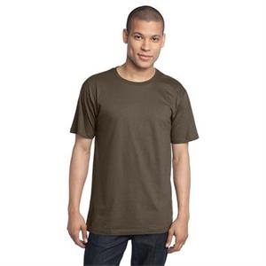 District Made (tm) -  X S -  X L Natural - Men's Organic Cotton Perfect Weight Crew Tee