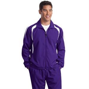 Sport-Tek Tall Colorblock Raglan Jacket.