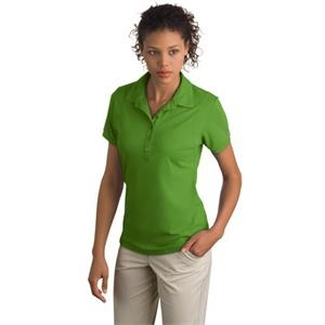 Jewel Ogio (r) - 2 X L - Ladies Polo Shirt, 100% Polyester With Self Fabric Collar And Rib Knit Cuffs