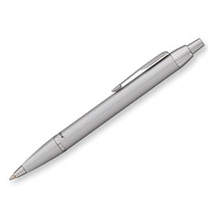 Parker Im - Silver - Luxurious Ballpoint Pen With The Finest Lustrous Finish And Chrome Trim