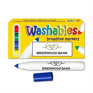 Washable Marker Set. Four Pack Washable Markers. Made In Usa