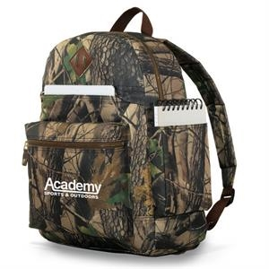 Heritage Supply (tm) - Forest Camo Computer Backpack With Side Cargo Pocket