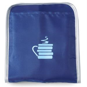 Tempo - Royal Blue - Collapsible Shopper Bag With Slash Pocket