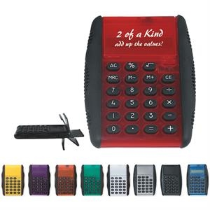 Flip Calculator With Soft Touch Keys And Side Grips For Ultimate Comfort