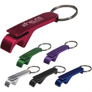 Aluminum Bottle/can Opener Key Ring