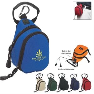 Mini Backpack, Made Of 600 Denier Polyester With Belt Loop Attachment