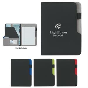 "Select - Portfolio With 5"" X 7"" Writing Pad And Inside Flap Pocket"