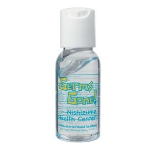 1 Oz. Hand Sanitizer With Push Top Lid