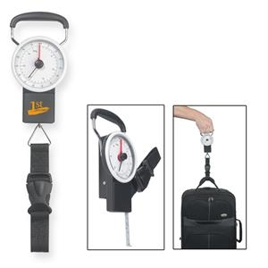 "Luggage Scale With 39"" Metal Tape Measure"