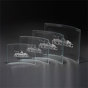 Crescent Medium Glass Award
