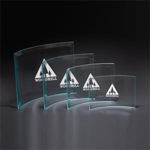 Chronicle Medium Jade Glass Award