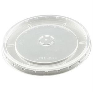 Flat Clear 12 Oz - Flat Lids For Paper Food Containers