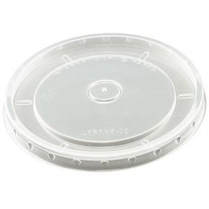 Flat Clear 6 Oz, 8 Oz, 10 Oz, 16 Oz (t) - Flat Lids For Paper Food Containers