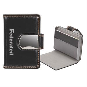 Pinemax - Faux Leather Case With Magnetic Closure