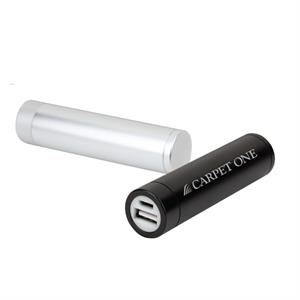 Tubular Shaped Portable Battery Charger 2200 Mah