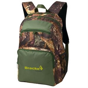 Camouflage Accented Backpack