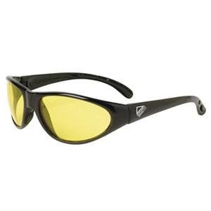 Pirana - Amber Lens - Safety Glasses With A Sporty Frame, Built For Comfort