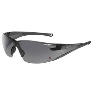 Bolle (r) Rush (tm) - Gray Lens - Ultra Lightweight Safety Glasses