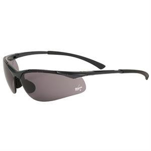 Bolle (r) Contour (r) - Gray Lens - Safety Glasses With Ultra Lightweight Half Frame