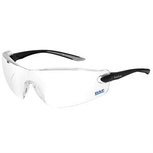Bolle (r) Cobra (r) - Clear Lens - Safety Glasses With Microfiber Pouch And Adjustable Neck Cord