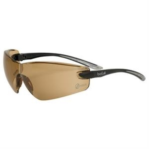 Bolle (r) Cobra (r) - Twilight Lens - Safety Glasses With Microfiber Pouch And Adjustable Neck Cord