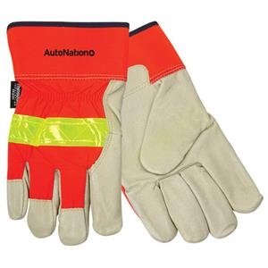 Insulated Top Grain Pigskin Leather Palm Gloves