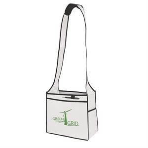 Esprit - Tradeshow Tote Bag With Handy Pocket And Cushioned Shoulder Strap. Screen Print