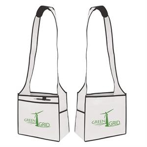 Esprit - Tote With 1-color, 2-sided Screen Print. Has A Handy Pocket