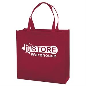 Responsible Market Tote With 1-color, 1-sided Screen Print