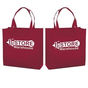 Responsible Market Tote With 1-color, 2-sided Screen Print