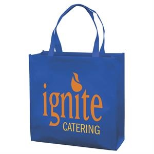 Responsible Market Tote With 2-color, 1-sided Screen Print
