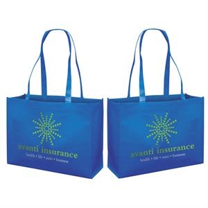 Responsible Market Tote With 2-color, 2-sided Screen Print
