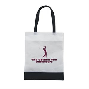 Tote 'n Ship - Water-resistant Tradeshow Tote Bag With 1-color, 1-sided Screen Print