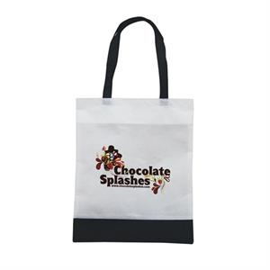 Tote 'n Ship - Water-resistant Tradeshow Tote Bag With Full-color Transfer, 1-sided