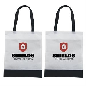 Tote 'n Ship - Water-resistant Tradeshow Tote Bag With 2-color, 2-sided Screen Print