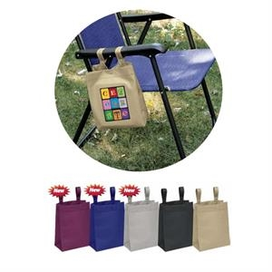Hang Around (tm) - Tote With Fused Seams, Side And Bottom Gussets And Snap-closures