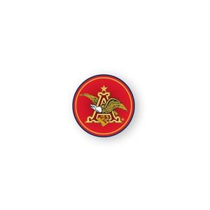 Round Lapel Stickers Are Printed On Glossy Permanent Adhesive Paper, 1 1/4""