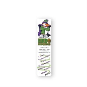 "Bookmark Printed On 10 Point Coated Paper, 1 1/2"" X 6 1/4"""