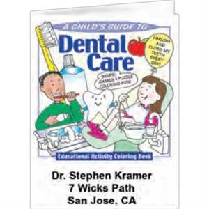 Dental Care - Coloring Book, 8 Pages