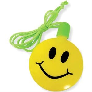 "Smile Face 2 1/2"" Bubble Necklace"