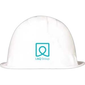 White - Plastic Construction Hats