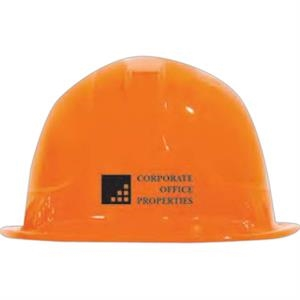 Orange - Plastic Construction Hats