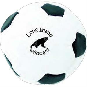 Black And White Soccer Kickball, 2""